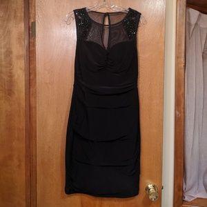 Black Beaded Dress from Dressbarn